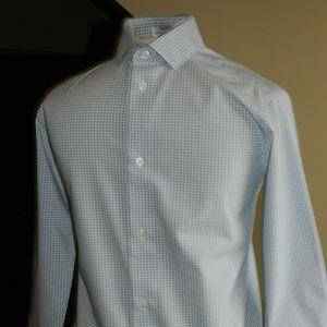 Calvin Klein Boys Long Sleeve Dress Shirt Size 10